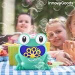 Kép 5/8 - InnovaGoods Automatikus szappanpumpás gép Froggly, kék