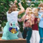 Kép 6/8 - InnovaGoods Automatikus szappanpumpás gép Froggly, kék