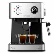 Manuális Express Kávéfőző Cecotec Power Espresso 20 Professionale 1,5 L Ezüst színű Fekete