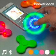 InnovaGoods LED Pörgettyű Hangszóróval és Bluetooth-al Szín Zöld