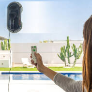 Cecotec WinRobot 870 5035 80W Kék Fekete Smart Üvegtisztító Robot