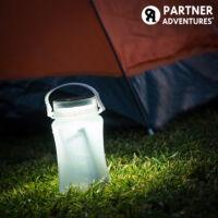 Partner Adventures Napelemes Szilikon LED Kulacs