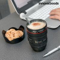 InnovaGoods Többfunkciós Bögre Fedéllel