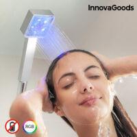 InnovaGoods Square LED Ecozuhany Hőmérséklet Szabályzóval