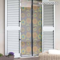 InnovaGoods Szúnyogháló Függöny, virágmintás