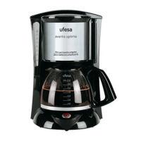 UFESA CG7232 Avantis 70 800W Fekete Szürke Rozsdamentes Acél, Kávéfőző