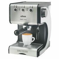 Manuális Express Kávéfőző UFESA CE7141 1,5 L 15 bar 1050W Fekete Ezüst színű Rozsdamentes Acél