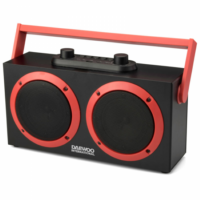 Bluetooth Hordozható Hangszóró Daewoo DSK-340 FM 15W Fekete,