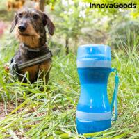 InnovaGoods 2 az 1-ben Háziállat Eledel Üveg Víztartállyal
