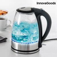 InnovaGoods Vízforraló LED Világítással 2200 W, 1,7 L