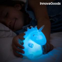 InnovaGoods LED Színváltós Egyszarvú, Unikornis Lámpa