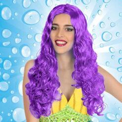 Göndör haj paróka Lila 111237