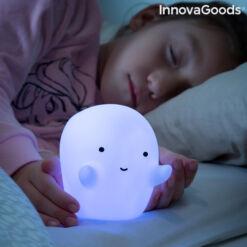 TöbbSzínű LED-es szellem lámpa Glowy InnovaGoods