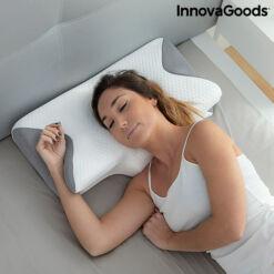 Viszkózelasztikus nyakpárna ergonomikus kontúrokkal Conforti InnovaGoods-bibishop