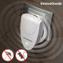 InnovaGoods Mini Ultrahangos Rovar és Rágcsálóírtó
