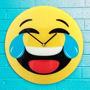 Nevető Emoji Falióra