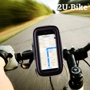 U2·Bike Mobiltelefon Tok és Tartó Biciklire