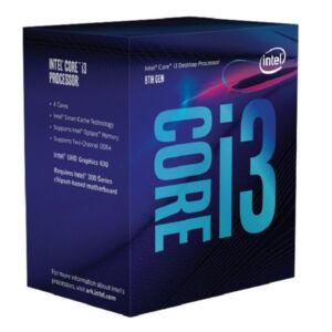 Processzor Intel Intel® Core™ i3-8100 Processor BX80684I38100 Intel Core i3 8100 3,6 Ghz 6 MB LGA 1151 BOX,