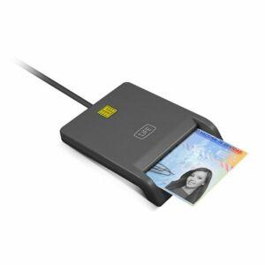 Elektromos DNI Olvasó 1LIFE 1IFECRCITIZEN USB 2.0 Fekete,