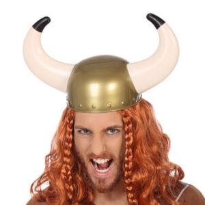 Viking sisak Szarvak Többszínű
