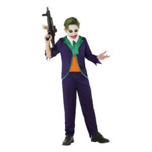 112681 Bohóc Joker (3 db) Gyerek jelmez, 5-6 éves kor