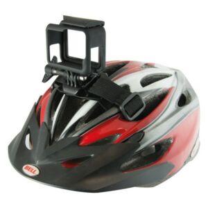 Tartó szíj Sportkamera számára Kerékpár Sisakhoz Fekete