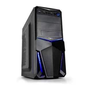 ATX Közepes Torony PC Ház NOX NXPAX USB 3.0 Fekete,