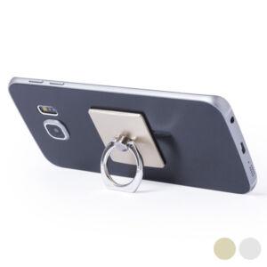 Ragasztható Mobiltartó Kettős Funkcióval 145551, Ezüst színű