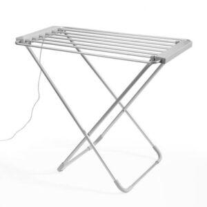 InnovaGoods 100W Gris Összecsukható Elektromos ruhaszárító (6 rúd)