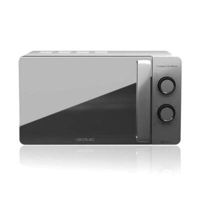 Cecotec ProClean 3160, Mikrohullámú Sütő Grillsütővel, 20 L, 700W, Ezüst színű