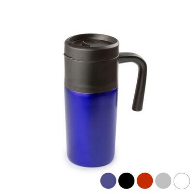 Bögre fedéllel (400 ml) 144738 Szín  Piros