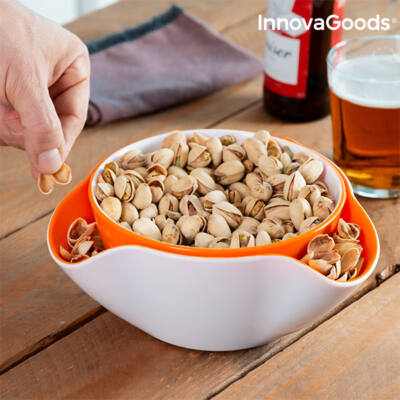 InnovaGoods Snack Tál 2 az 1-ben (2 db)