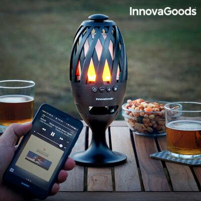 InnovaGoods LED Elemlámpa Bluetooth Hangszóróval