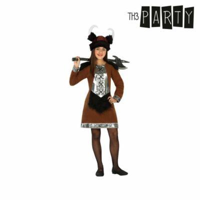 Gyerek Jelmez Th3 Party Vikingnő 3-4 Éves kor