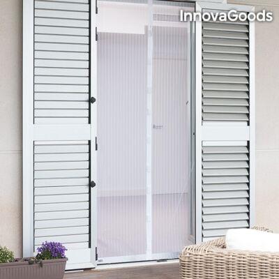InnovaGoods Szúnyogháló Függöny, fehér