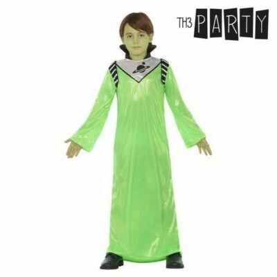 Gyerek Jelmez Zöld földönkívüli 10-12 Év