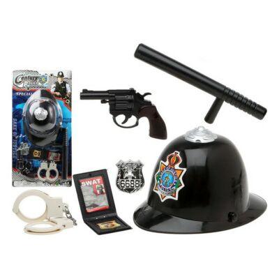 Rendőrségi szett Fekete 111711