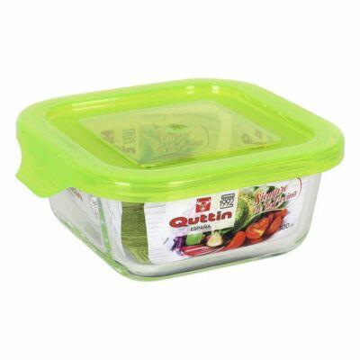 Négyzet alakú ebéd doboz fedéllel Quttin Méret 750 cc - 16 x 16 x 6,9 cm