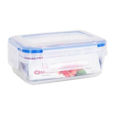 Hermetikus ebéddoboz Quttin L&F Műanyag Kapacitás 2400 ml -20 x 15 x 12 cm