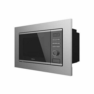 Beépíthető Mikrohullámú Sütő Cecotec GrandHeat 2500 Built-In Touch Steel Black 900 W 25 L Grill