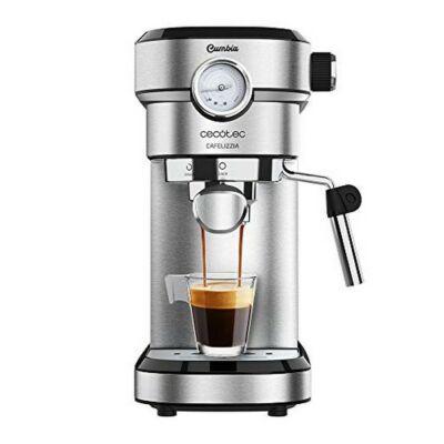 Manuális Express Kávéfőző Cecotec Cafelizzia 790 Steel Pro 1,2 L 20 bar 1350W Rozsdamentes acél