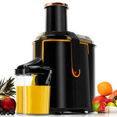 Gyümölcsfacsaró gép Cecotec ExtremeTitanium 19000 XXL 1300W 950 ml Fekete