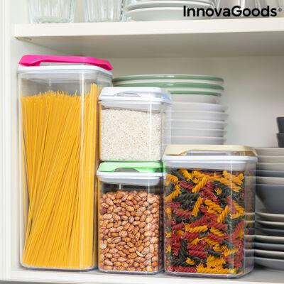 Halmozható hermetikusan lezárt konyhai tároló szett Pilocks InnovaGoods 4 Darabos