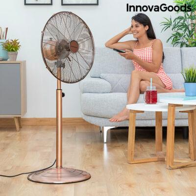 InnovaGoods Copper Retro álló Ventilátor Ø 40 cm 55W