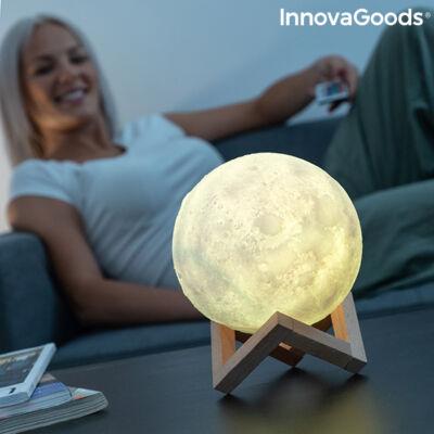 Újratölthető LED Hold Lámpa Moondy InnovaGoods