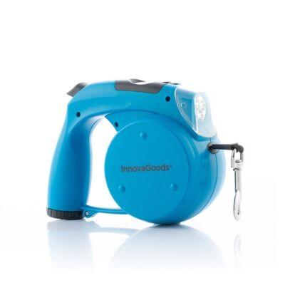 InnovaGoods Home Pet 6 az 1-ben behúzható kutya póráz, kék