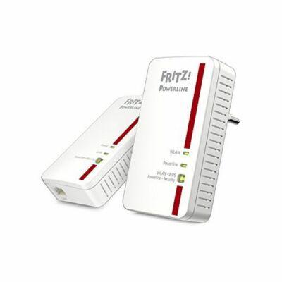 Powerline Fritz! 1240E 300 Mbps WIFI Fehér,