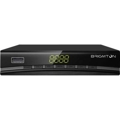 TDT hangoló BRIGMTON BTDT2-918 Full HD USB HDMI Fekete,