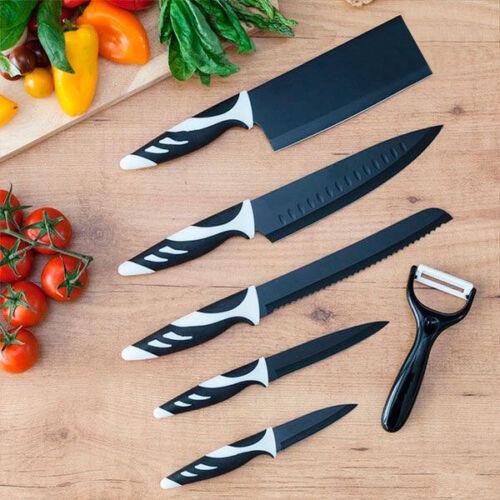 Cecotec Top Chef fekete C01024 Kések (6 darabos)