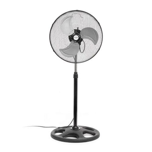 InnovaGoods Home Climate Ipari álló ventilátor, 45 cm, 75W, fekete
